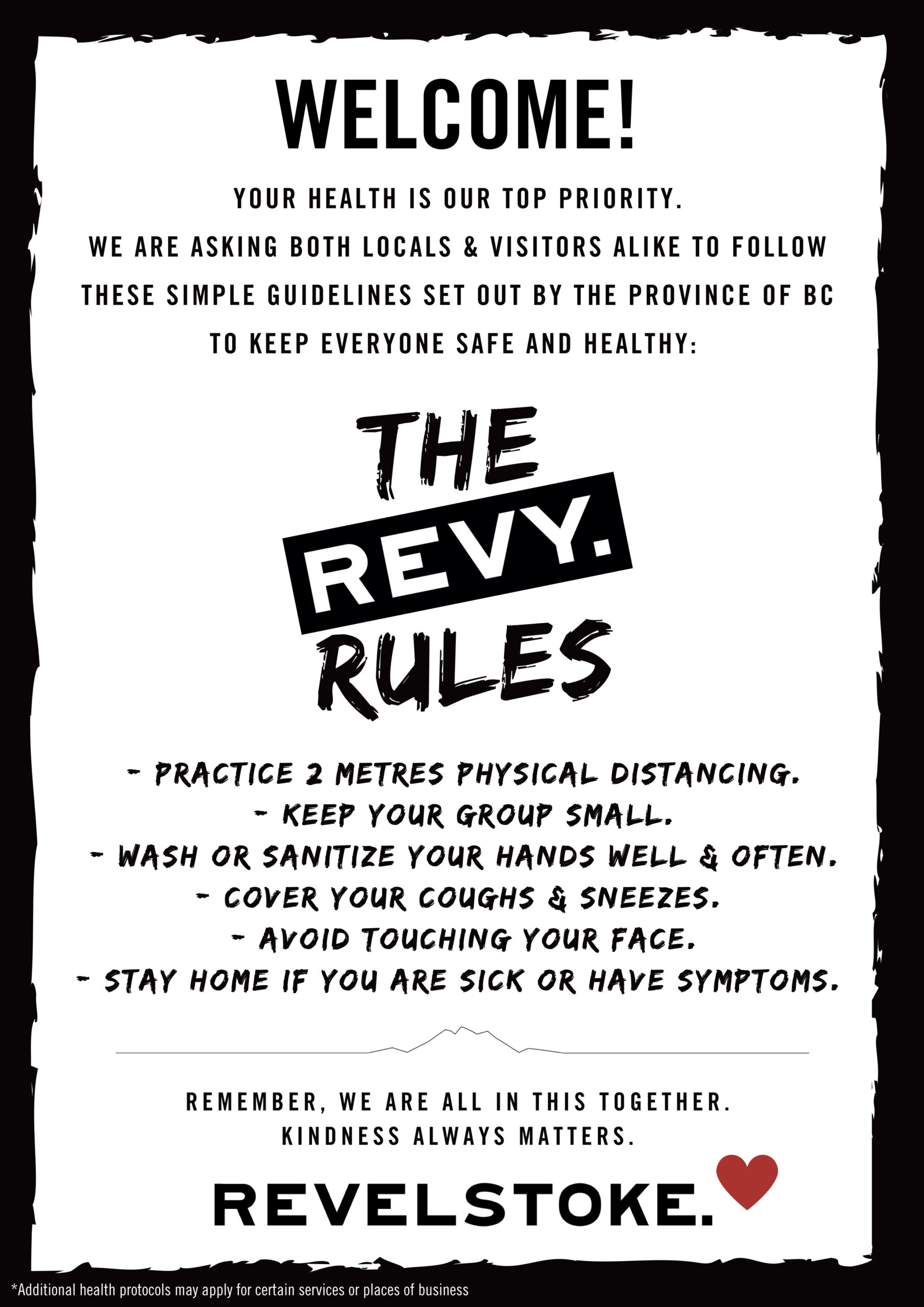 The Revy Rules of COVID-19